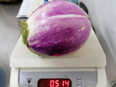 Brinjal Rosa Bianca (Eggplant) 500g